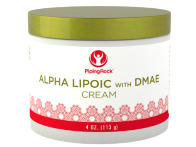 Piping Rock Alpha Lipoic With DMAE Cream, 4 oz