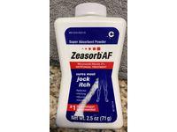 Zeasorb Af Super Absorbent Powder, Antifungal Treatment, 2.5 oz/71 g - Image 3