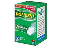 Polident 3 Minute Antibacterial Denture Cleanser, 120 tablets - Image 2