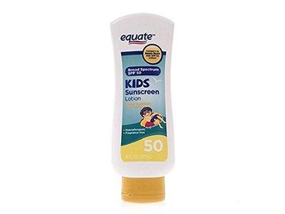 Equate Kids Sunscreen Lotion SPF 50, 8 fl oz - Image 1