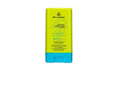 MDSolarSciences Mineral Sunscreen Stick, Broad Spectrum SPF 40, 0.6 oz