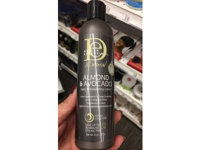 Design Essentials Natural Daily Hair Moisturizing Lotion 8oz