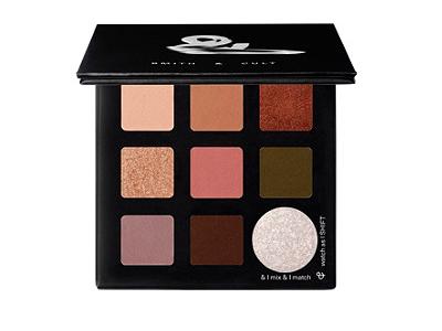 Smith & Cult Matte and Metallic Eyeshadow Palette, Sombra Shift, 0.39 oz