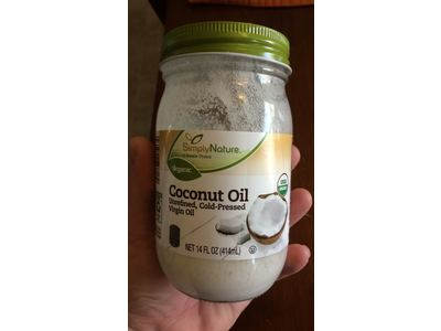 Nature Coconut Oil Unrefined, Cold-Pressed Virgin Oil, 14 fl oz - Image 3