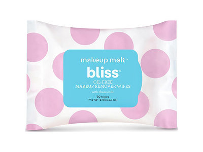 bliss Makeup Melt Makeup Remover Wipes, 30 ct.