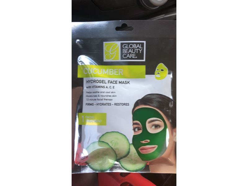 Global Beauty Care Hydrogel Face Mask
