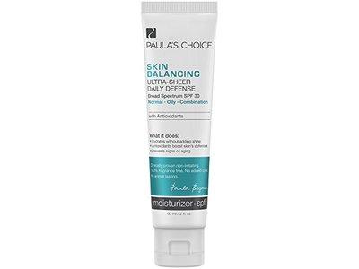Paula's Choice Skin Balancing Ultra-Sheer Daily Defense SPF 30 Moisturizer, 2 oz