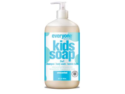 Everyone Kids 3 In 1 Soap, Unscented, 32 fl oz - Image 1