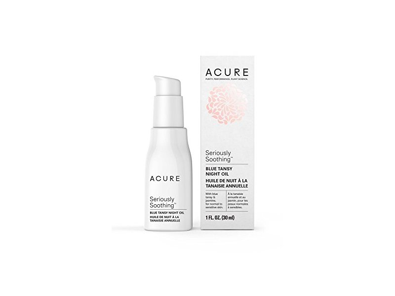 Acure Seriously Soothing Blue Tansy Night Oil, 1 Fluid Ounce