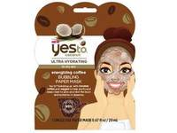 Yes To Coconut Energizing Coffee Bubbling Paper Mask - Image 2