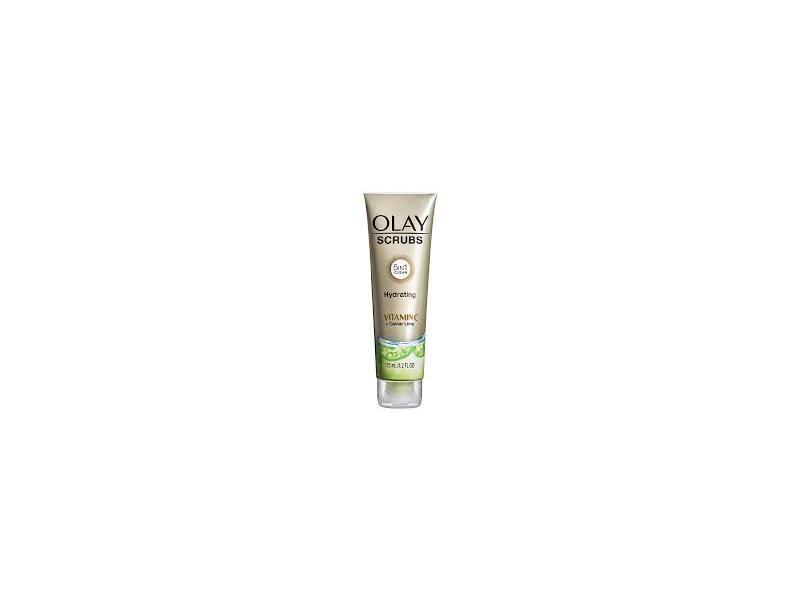 Olay Scrubs Hydrating Facial Cleanser Vitamin C + Caviar Lime