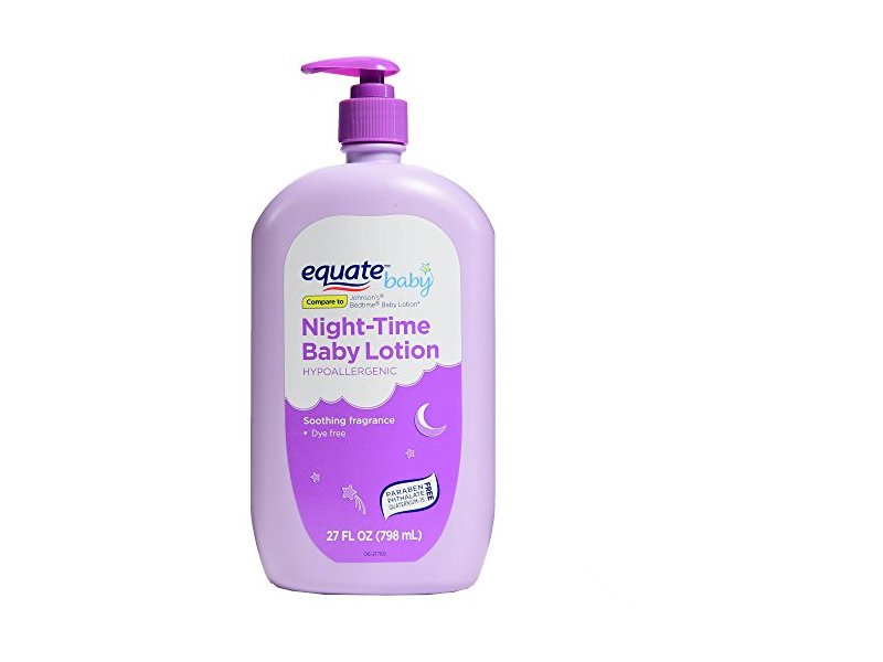 Equate Night-Time Baby Lotion, 27 fl oz