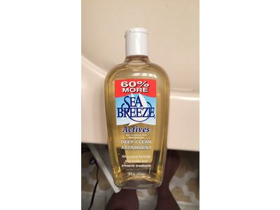Sea Breeze Actives Deep Clean Astringent 16 Fl.oz (2 Bottles) - Image 3