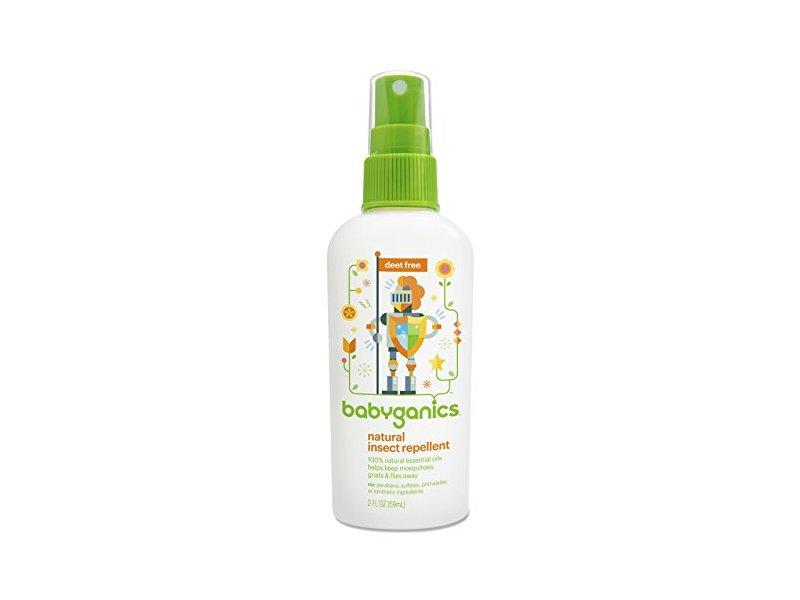 Babyganics Natural Insect Repellent, Deet Free, 2 fl oz