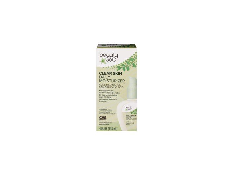 Beauty 360 Clear Skin Daily Moisturizer