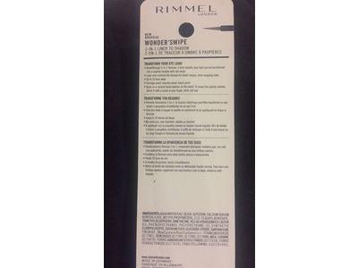 Rimmel Wonder Swipe 2-in-1 Liner To Shadow, Instafamous, 0.058 Fluid Ounce - Image 4