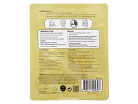 BioMiracle Masque Gold Hydrogel Pure 24K Gold & Ginseng Hydrogel Face Mask, 1.05 oz - Image 5