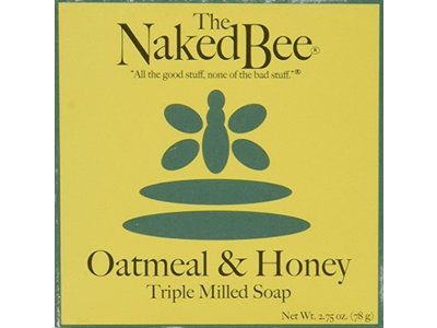 The Naked Bee Orange Blossom Honey Triple Milled Soap, 2.75 Ounce - Image 1
