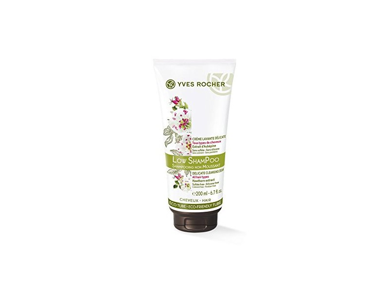 Yves Rocher Low Shampoo Hair Cleansing Cream, 200 ml