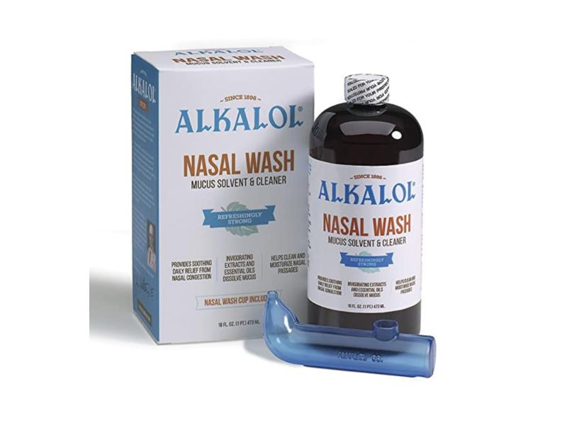 Alkalol Nasal Wash, 16 fl oz / 473 ml