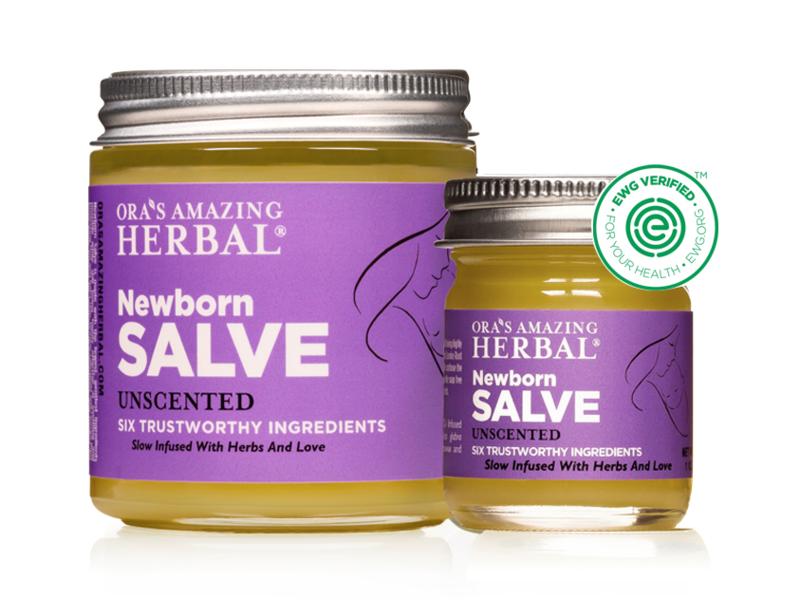 Ora's Amazing Herbal Newborn Salve, Unscented, 4 oz