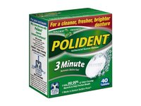 Polident 3-minute Denture Cleanser Tablets, 40-Count - Image 2