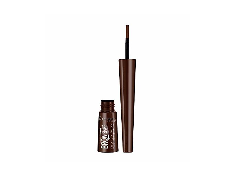 Rimmel Brow Shake Powder, 003 Dark Brown, 0.17 Fluid Ounce