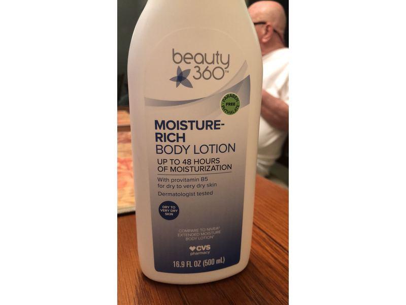 Beauty 360 Moisture Rich Body Lotion, 16.9 fl oz