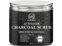 Milana Beauty Activated Charcoal Scrub, 10 oz - Image 2