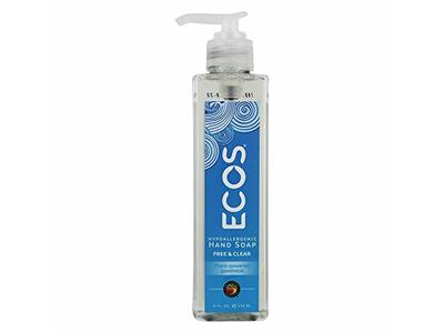 Earth Friendly Ecos Hypoallergenic Hand Soap, Free & Clear, 8 fl oz - Image 1