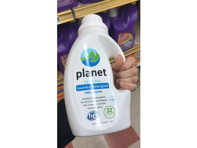 Planet 2X Liquid Laundry (HE), Free & Clear, Certified Biodegradable, 50oz - Image 7