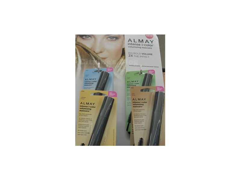 Almay Intense I-color Volumizing Mascara, Revlon