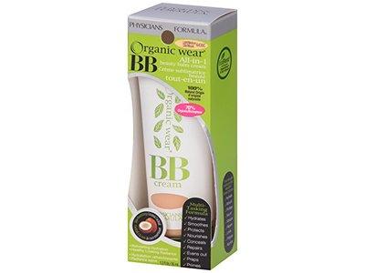 Physicians Formula Organic Wear 100% Natural Origin BB Beauty Balm Cream, Light/Medium, 1.2 Fluid Ounce - Image 10