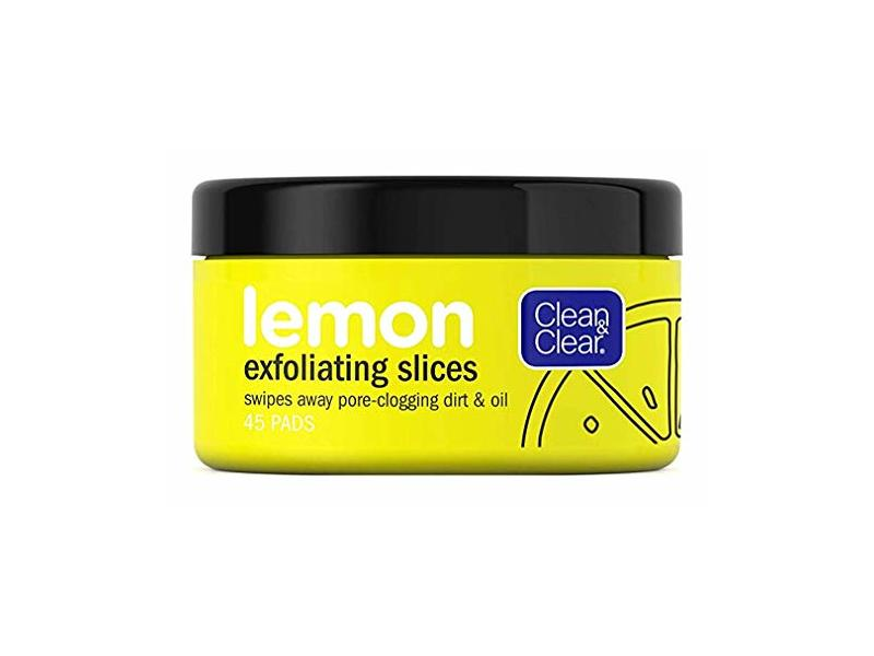 Clean & Clear Lemon Exfoliating Slices 45 Count (2 Pack)