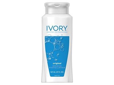 Ivory Original Scented Body Wash, 21 fl oz - Image 1