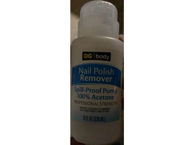 DG Body Nail Polish Remover, 8 fl oz