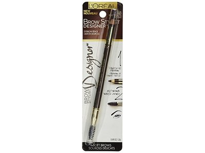 L'Oreal Paris Brow Stylist Designer Brow Pencil, Dark Brunette 315, 0.04 Ounce - Image 4