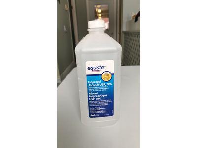 Equate Isopropyl Alcohol USP, 70%, 946 mL - Image 1