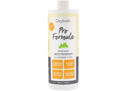 Oxyfresh Mouthwash, Fresh Mint, 16 fl oz