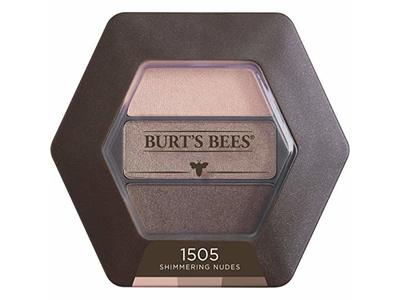 Burt's Bees 100% Natural Eye Shadow Palette with 3 Shades, Shimmering Nudes, 0.12 Ounce - Image 4