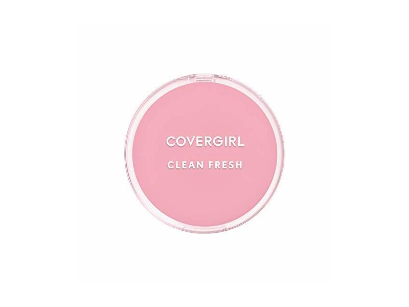 Covergirl Clean Fresh Pressed Powder, 120 Fair, 0.35 oz