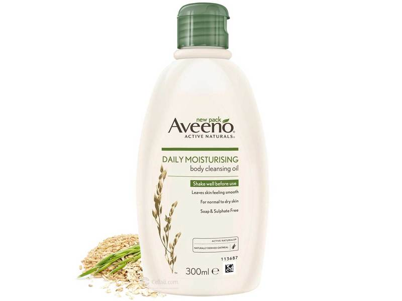 Aveeno Daily Moisturizing Body Cleansing Oil, 300 ml