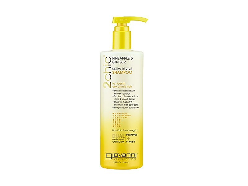 Giovanni 2chic Pineapple & Ginger Ultra-Revive Shampoo, 24 Ounce