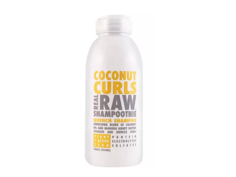 Real Raw Shampoothie Coconut Curls Quench Shampoo, 12 fl oz / 355 ml