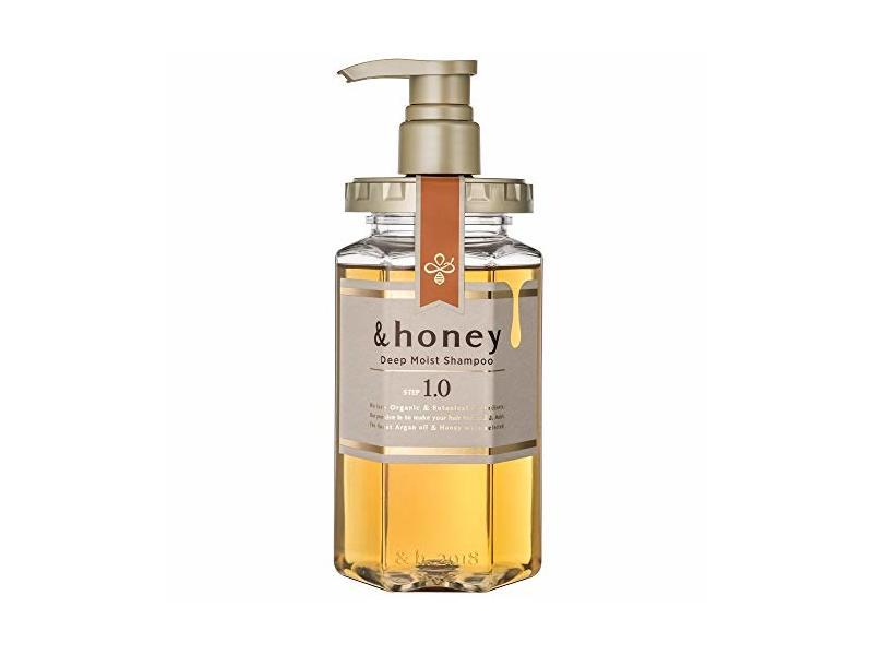 & Honey Deep Moist Shampoo Step 1.0, 440 mL