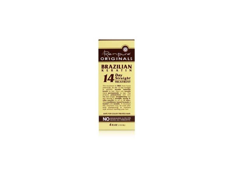 Renpure Originals Brazilian 14 Day Treatment, 4 Fl Oz