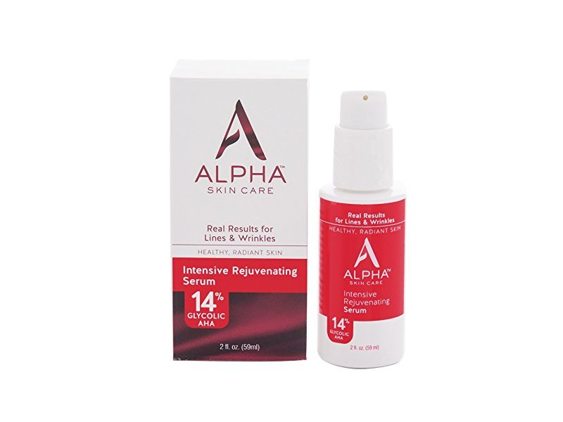 Alpha Skin Care Intensive Rejuvenating Serum with 14% glycolic AHA, 2 fl oz