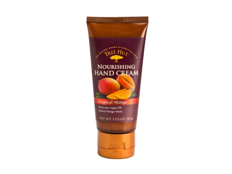 Tree Hut Hand Cream, Tropical Mango, 3 Ounce