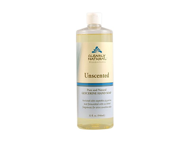 Clearly Natural Liquid Unscented Refill Hand Soap, 32 Ounce
