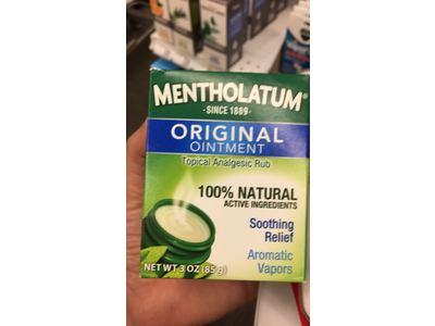 Mentholatum Original Ointment, 3 oz - Image 3